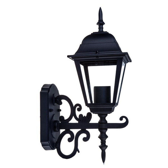 Tuin Wandlamp Lantaarn Livorno Zwart S