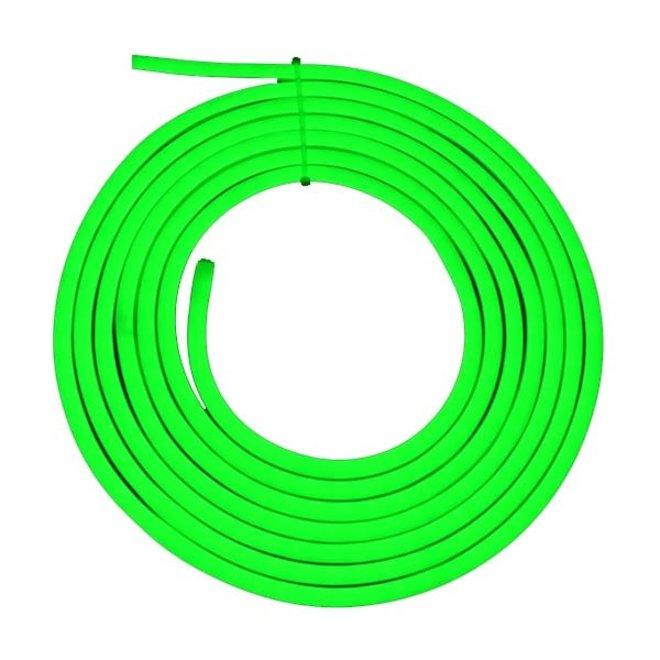 LED Neon Flex Groen 230V per meter