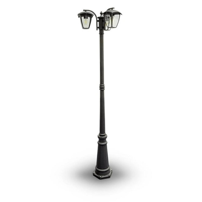 Tuinlantaarn Buitenlamp Staand Calabria 3-lichts 1990 hoog