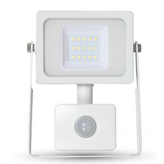 50W LED Bouwlamp met Sensor Wit