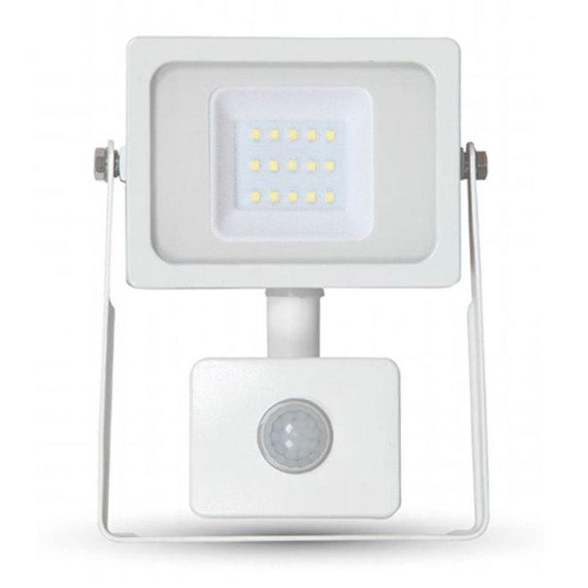30W LED Bouwlamp met Sensor Wit