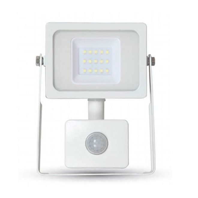 20W LED Bouwlamp met Sensor Wit