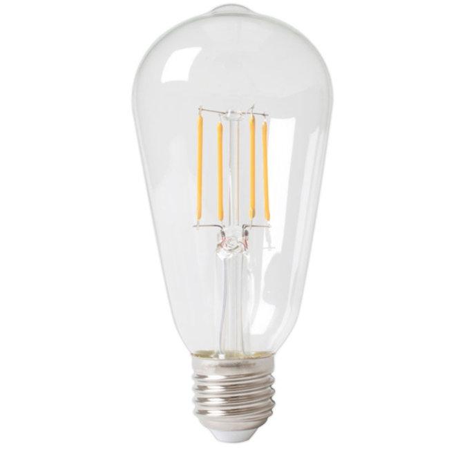 LED Filament 6W ST64 E27 2700K