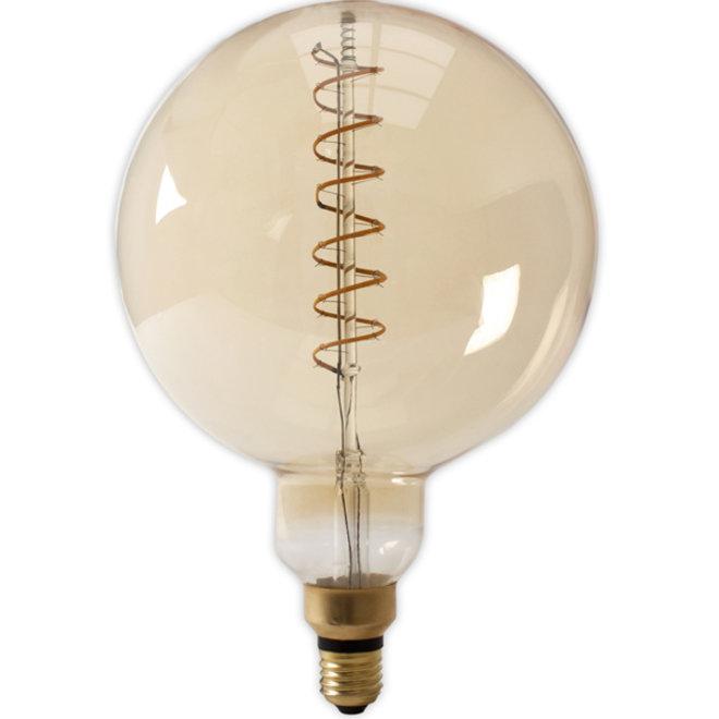 LED Filament Megaglobe G200 E27 Amber 2100K 4W