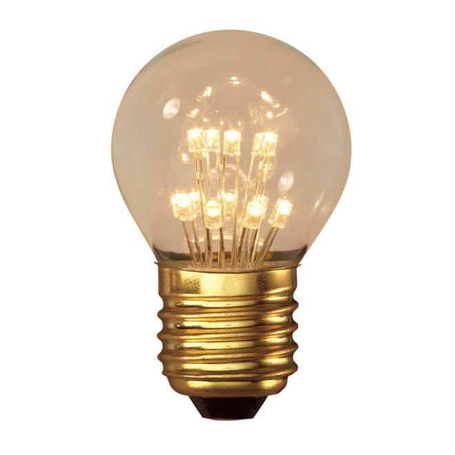 LED Pearl P45 E27 2100K 1W
