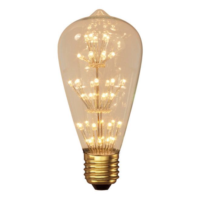 LED Pearl ST64 E27 2100K 2W