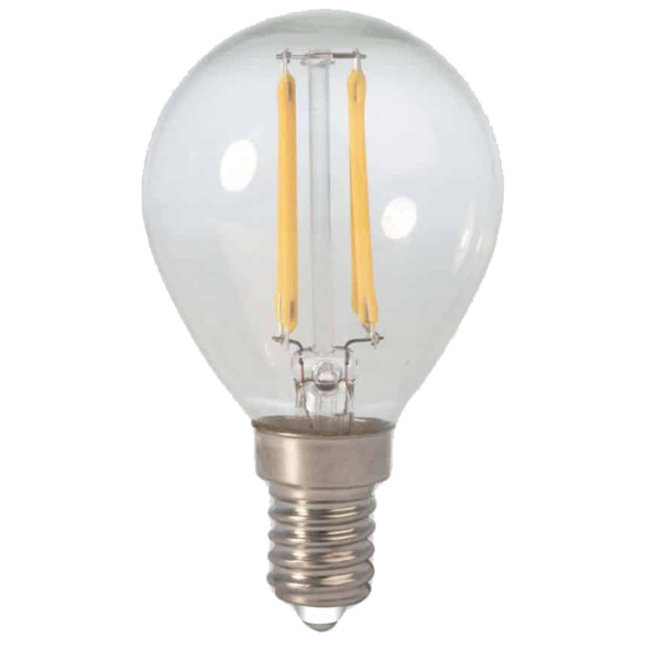 LED Filament P45 E14 2700K 2W