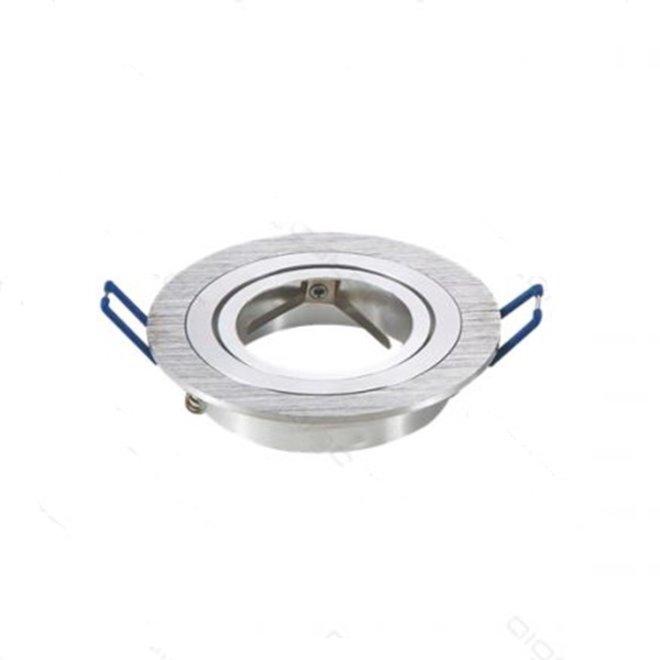 GU10 armatuur Aluminium Brush Kantelbaar