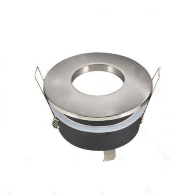 GU10 spotlight rond nikkel