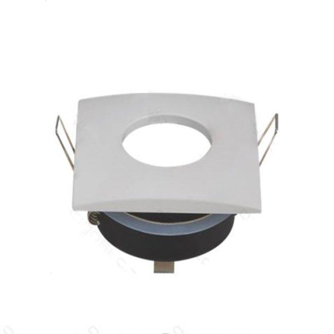 GU10 spotlight vierkant wit kantelbaar