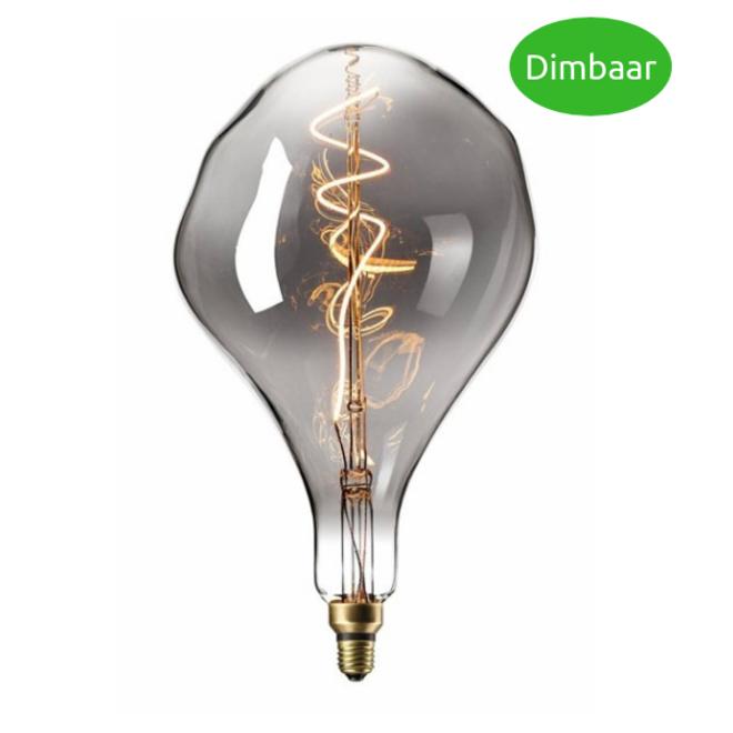 LED Filament XXL PS165 Titanium E27 2200K 6W Dimbaar