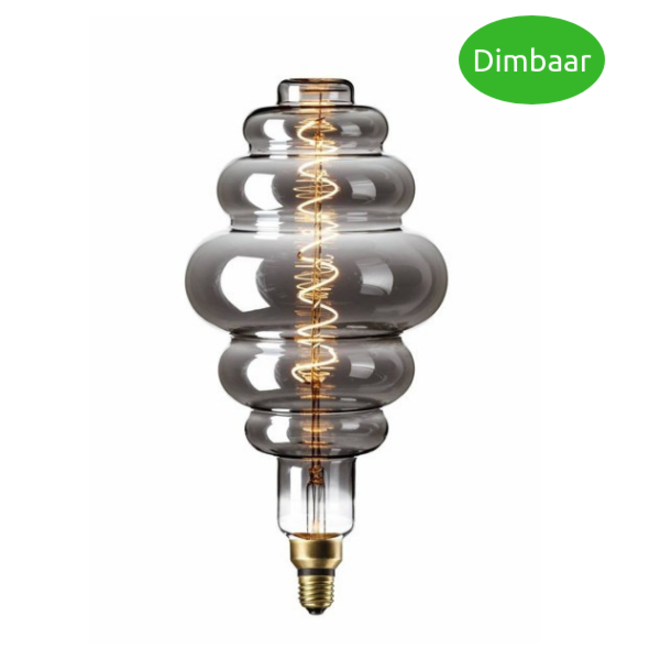 LED Filament XXL LS200 Titanium E27 2200K 6W Dimbaar