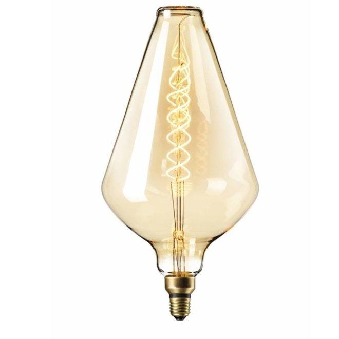 LED Filament XXL VA188 Goud E27 2200K 6W Dimbaar