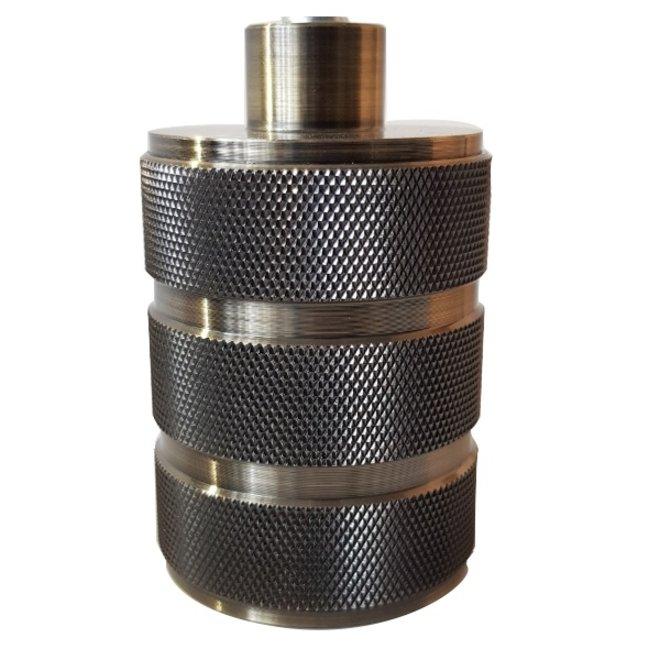 Fitting E27 Zwart 3-ringen
