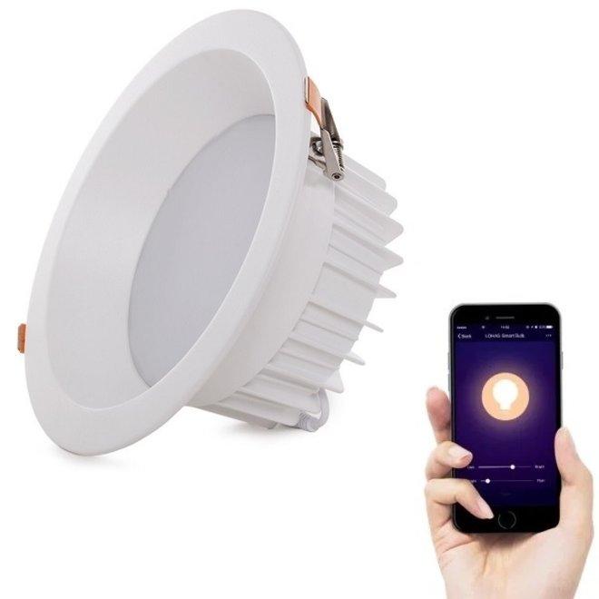 9W Smart Downlight Wifi bedienbaar 2000K - 6500K