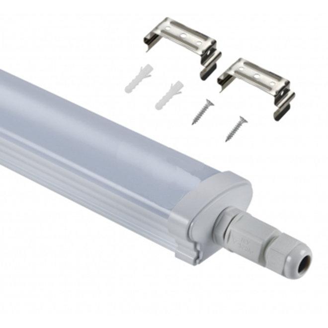 LED Batten Armatuur koppelbaar 120cm 40W 4000K/6000K Waterdicht IP65