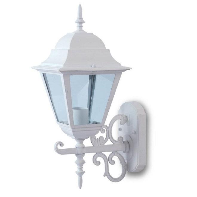 Tuin Wandlamp Lantaarn Livorno Wit L