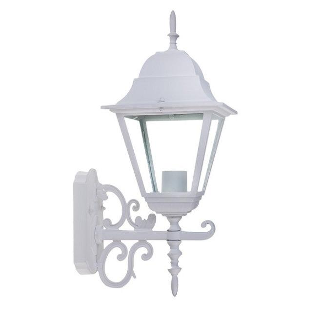 Tuin Wandlamp Lantaarn Livorno Wit S