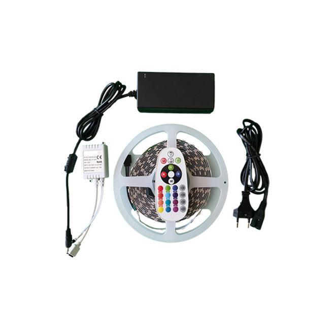 LED strip 6000K - Complete set - Plug&Play - 5 Meter - Met afstandsbediening