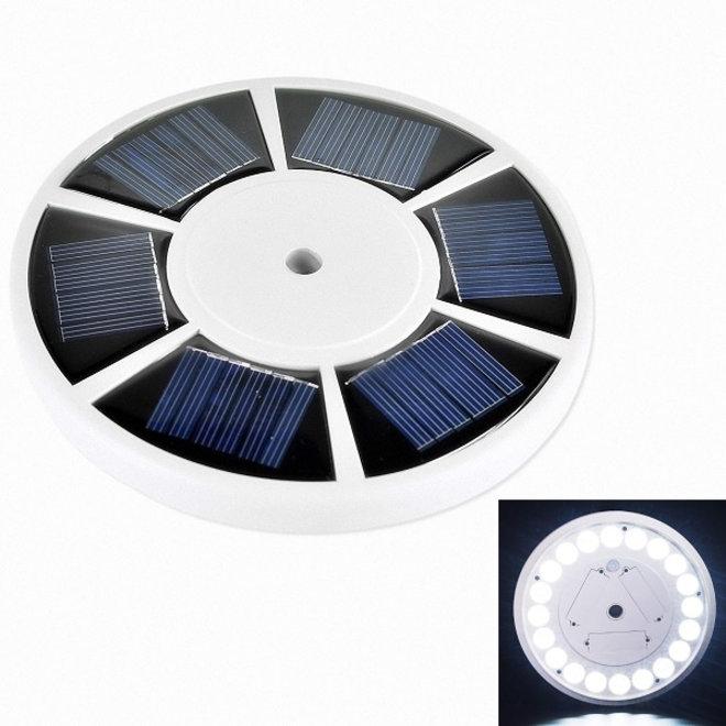 Specilights Vlaggenmast Verlichting - LED Solar Lamp met Zonnepaneel voor een Banier