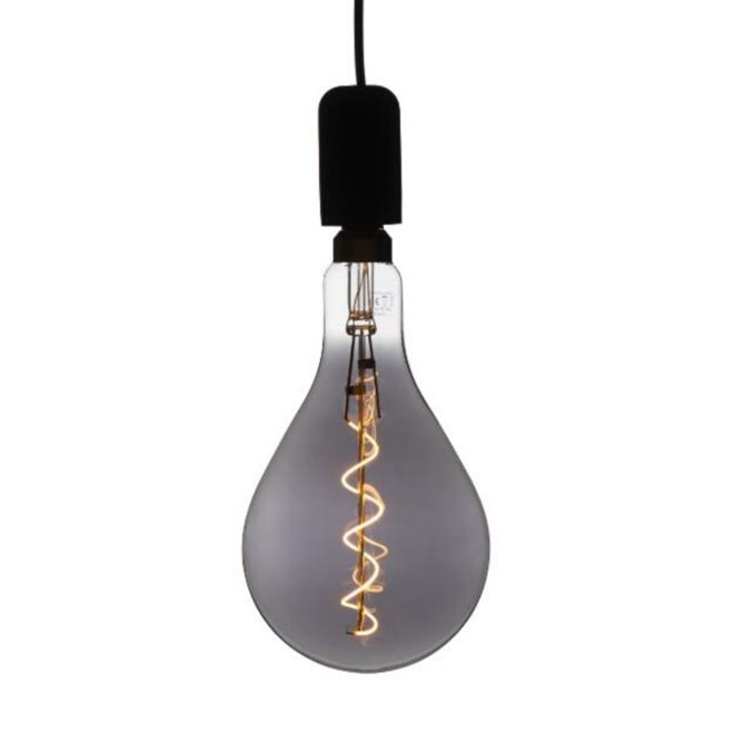 XXL Megaglobe LED 30 cm - PS160 Filament lamp Smokey - E27 Giant Dimbaar 6W - Oversized Giant Bulb