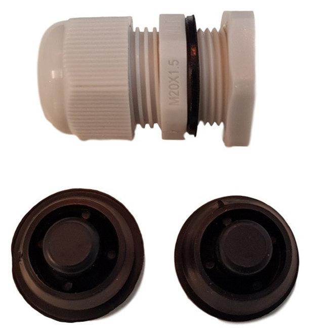 Waterdicht IP65 LED TL armatuur 120 cm - kant en klaar met LED TL verlichting - Inclusief 2 x 18W LED TL buizen