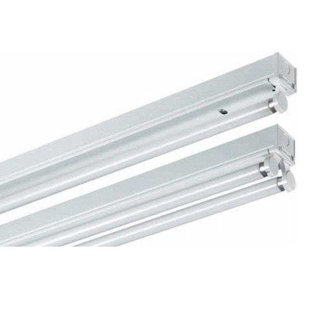 LED TL armatuur 60 cm opbouw - Kant en klaar voor één led tl buis