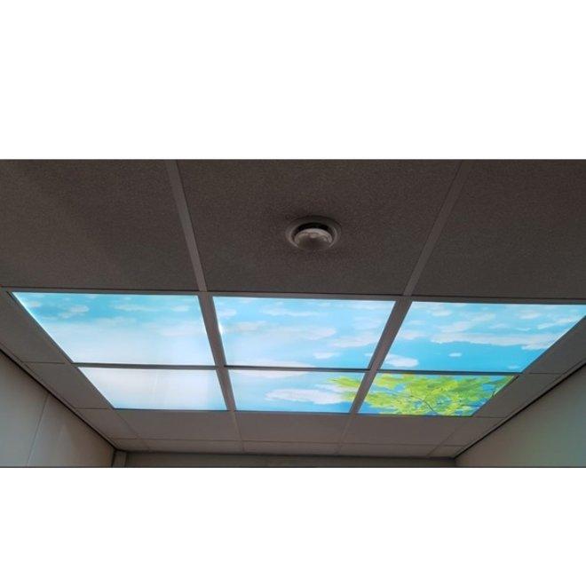 LED Wolkenplafond 60 x 60 cm complete set 6 stuks inclusief LED panelen
