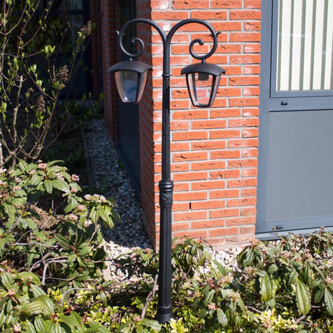 Tuinlantaarn Buitenlamp Staand Lucca 2-lichts 1410 hoog