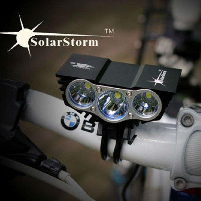 Solarstorm X3 MTB fietslamp