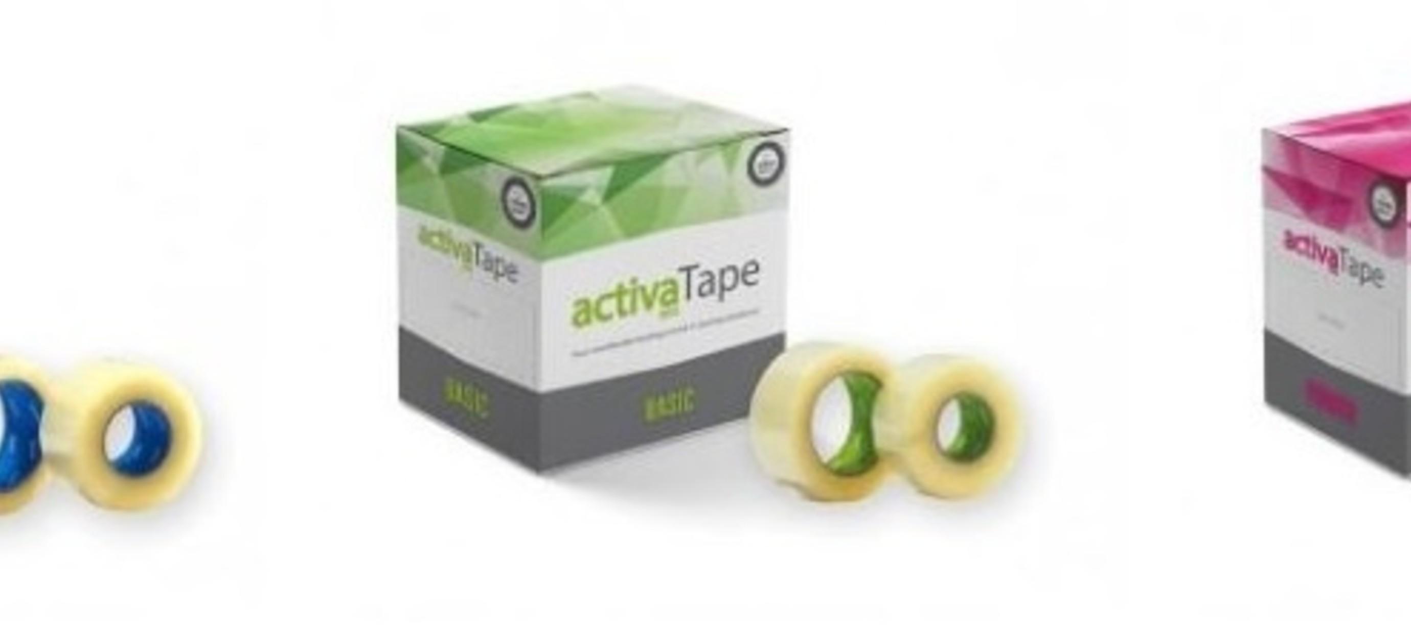 Verpakkingstape Activa een nieuw product van Activatec