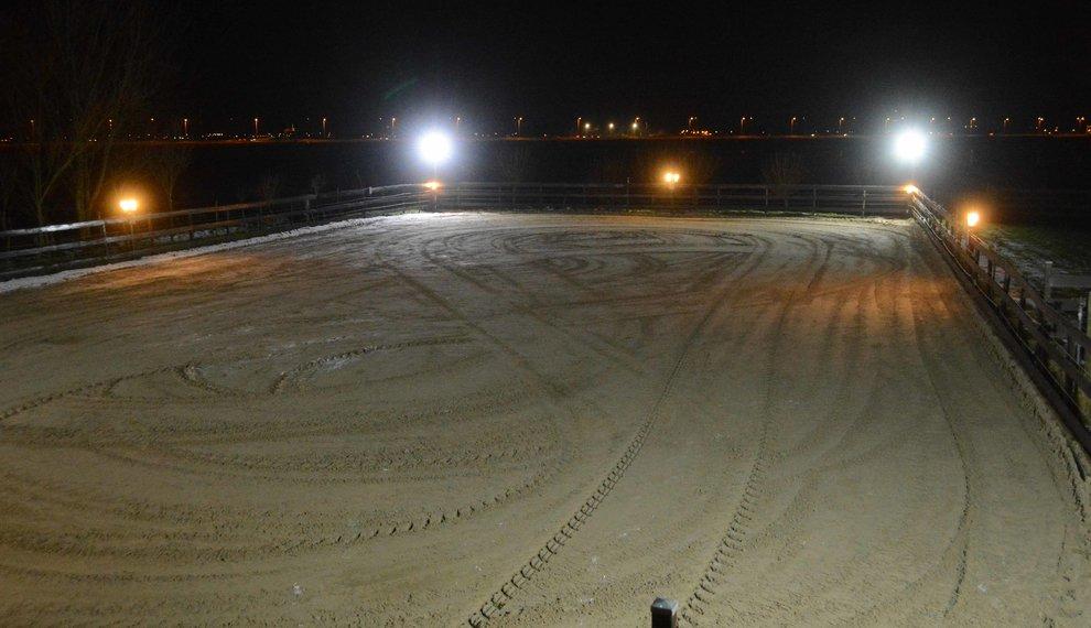 Nieuwe Foto's van LED Bouwlampen in Actie