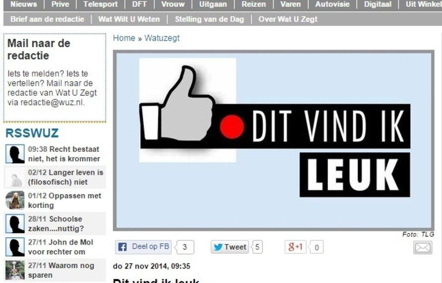 Leuk bericht in de Telegraaf over FitShopXL