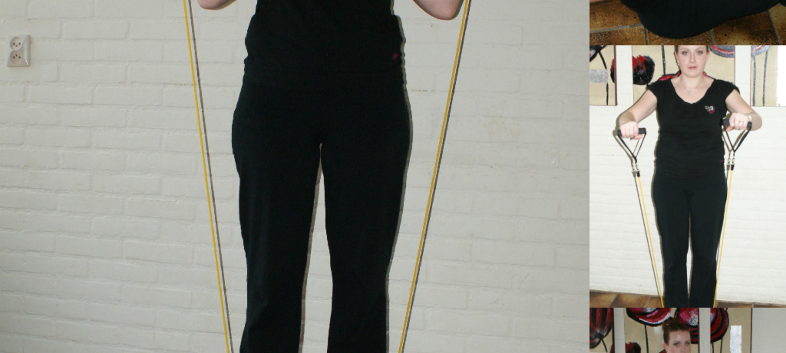 Stacey test de Fitness Elastiek Set van FitshopXL.nl