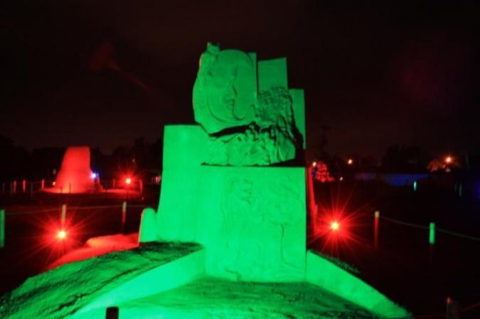 winterswijk led bouwlamp groen