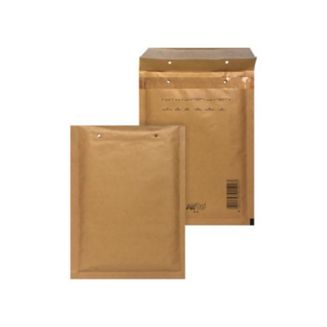 Luchtkussen envelop Bruin -  C 150 x 215 mm A5