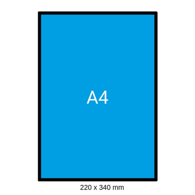 Luchtkussen envelop Bruin - F 220 x 340 mm A4