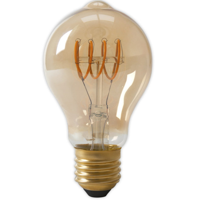 LED Filament A60DR E27 Amber 2100K 4W Dimbaar