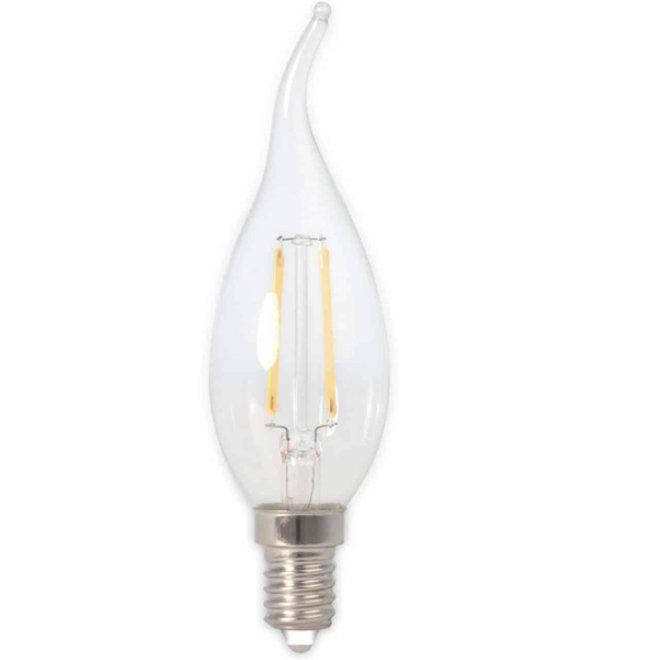 LED Filament BXS35 E14 2700K 3,5W Dimbaar