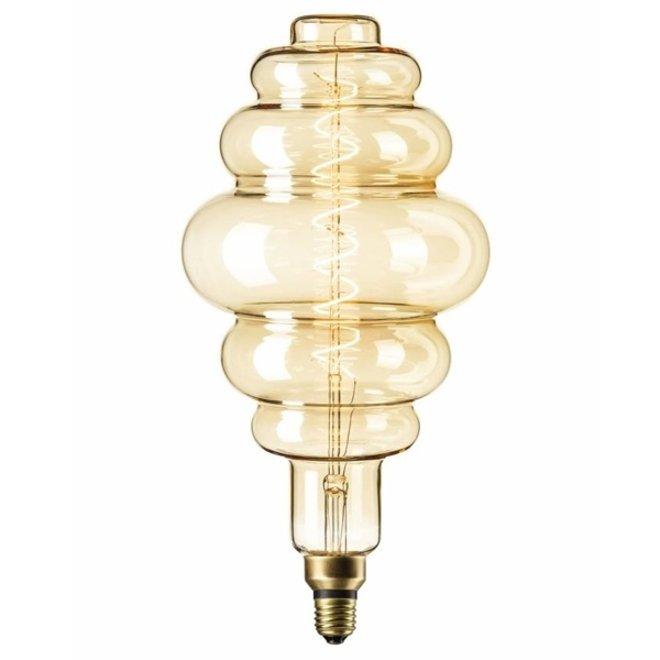 LED Filament XXL LS200 Goud E27 2200K 6W Dimbaar