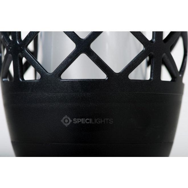 Specilights Tuinfakkel Solar - Fakkel met Vlameffect - Tuinverlichting met Zonnepaneel en USB aansluiting