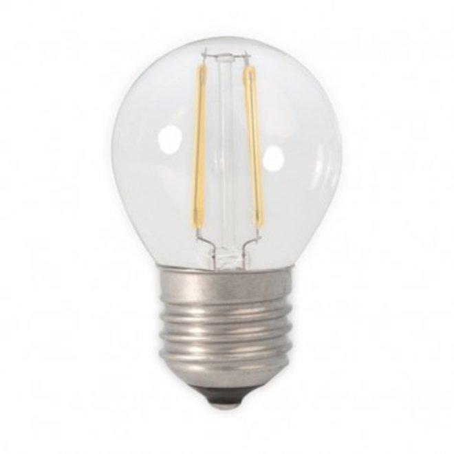 LED Filament 3,5W P45 E27 2700K Dimbaar