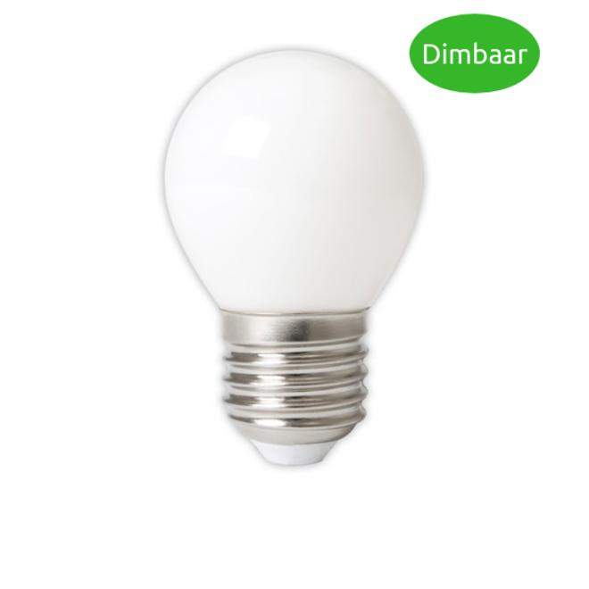 LED Filament 3,5W P45 E27 Frost 2700K Dimbaar