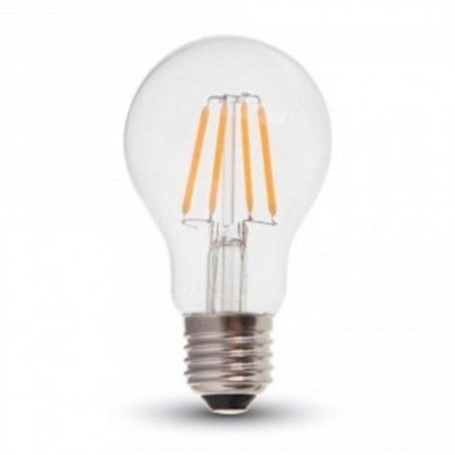 LED Filament A60 7W E27 2700K Dimbaar