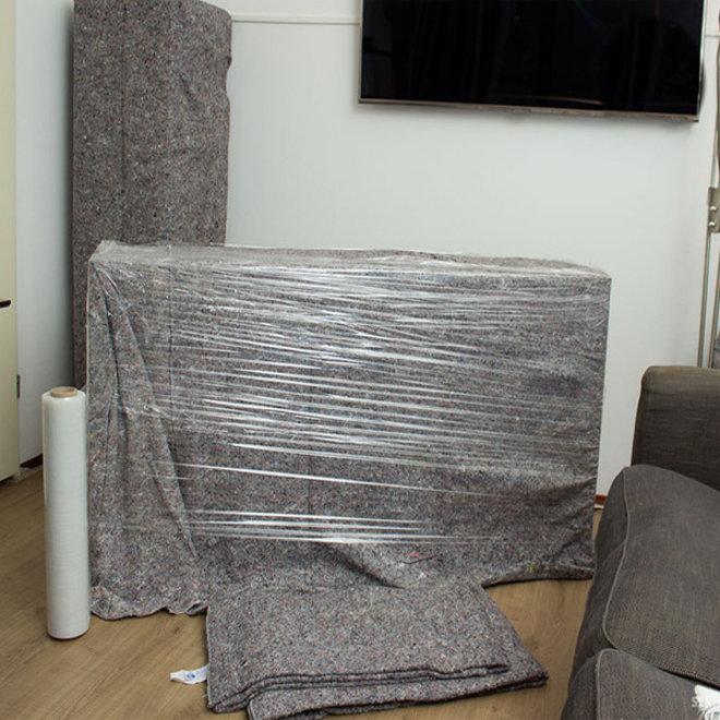 Opslagdekens 5 stuks 150 x 200 cm rondom gestikt