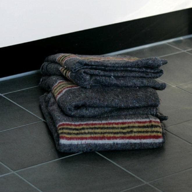 Verhuisdekens Pakdeken 5 stuks 150 x 200 cm geweven en rondom gestikt