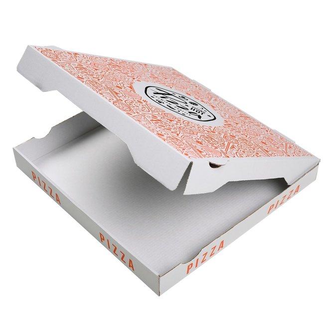 Pizzadoos Francia 32 x 32 x 4 cm - 50 stuks in pak