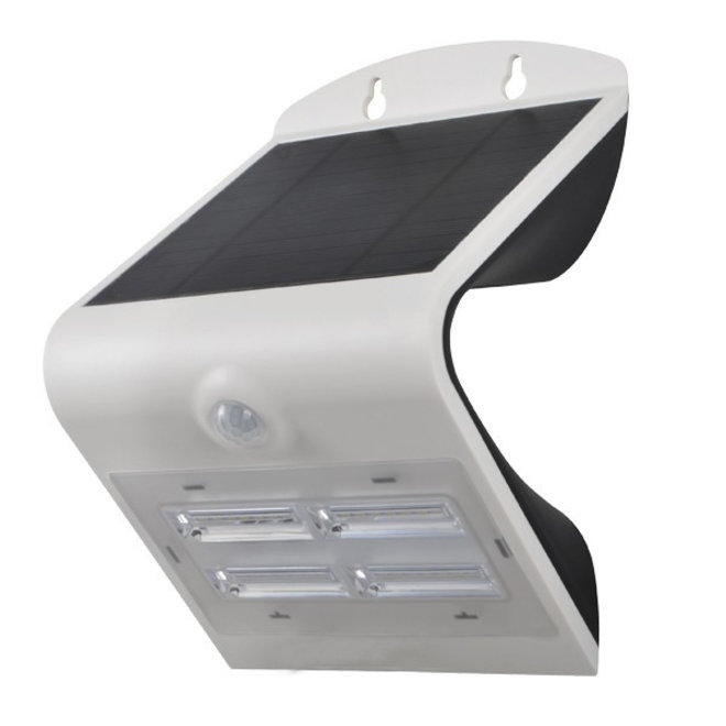 Specilights - Solar LED Muurlamp met Sensor 3W - IP65, volledig waterdicht - 3 unieke lichtstanden - Buitenverlichting
