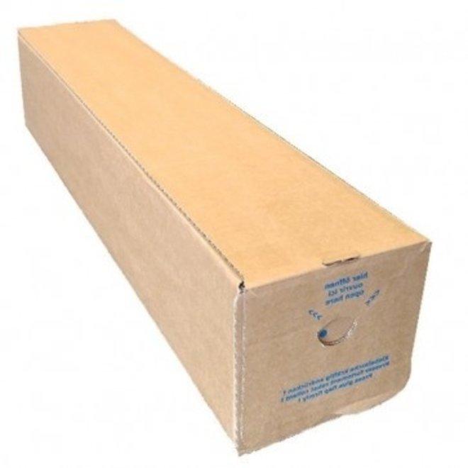 Vierkante verzendkoker 120 x 120 x 1600 mm - Pak met 60 verzendkokers