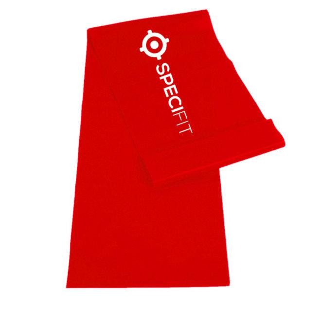 Weerstandsband light - Yogaband rood